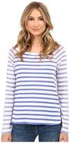 Splendid Sunfaded Stripe Jersey Long Sleeve Tee