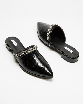 Dazie - Women's Black Loafers - Jodie Flats - Size 8 at The Iconic