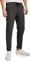 BOSS Men's Tapered Jersey Jogger Pants