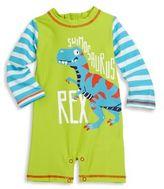Hatley Baby's Dinosaur Printed Rash Guard Romper