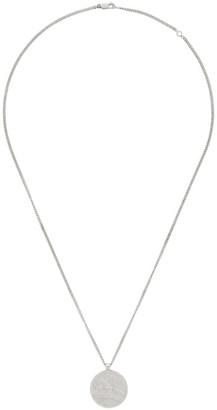 MAISON KITSUNÉ Silver Coin Necklace