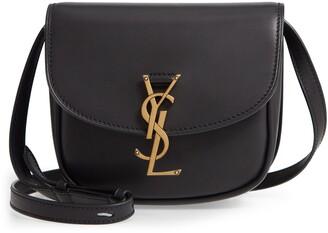 Saint Laurent Kaia Leather Crossbody Bag