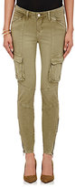 L'Agence Women's Montgomery Skinny Cargo Pants-GREEN