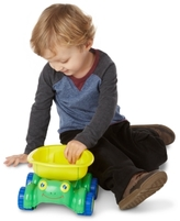Melissa & Doug Kids' Tapper Turtle Dump Truck
