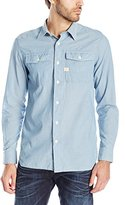 G Star Men's Landoh Army Long Sleeve Shirt