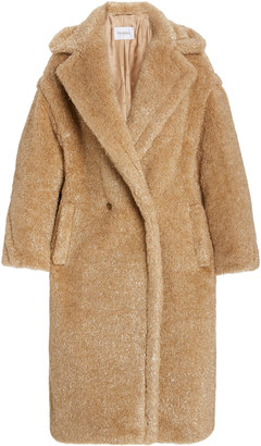 Max Mara Park Metallic Teddy Bear Coat