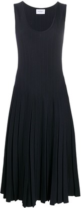 Salvatore Ferragamo Knitted Midi Dress