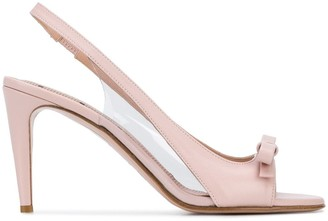 RED Valentino RED(V) Sandie slingback open-toe pumps