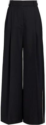 Alexandre Vauthier Wide-Leg Embellished Pants