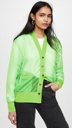 Toga Pulla Shiny Jersey Cardigan