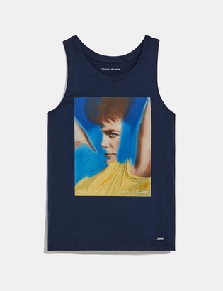 Coach X Richard Bernstein Tank With Michael J. Fox