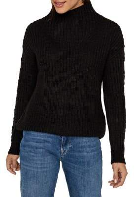 Vero Moda Lace-Up Sleeve Knit Sweater