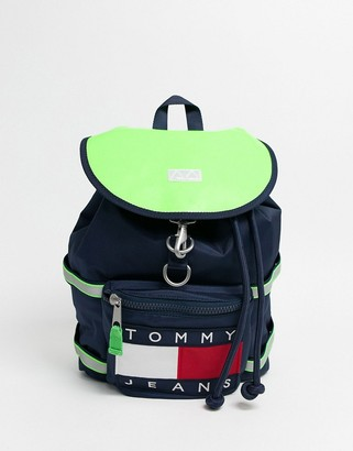 Tommy Jeans heritage backpack in black