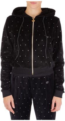 Chiara Ferragni Embellished Hooded Jacket