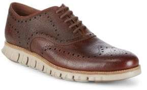 Cole Haan Zerogrand Leather Oxfords