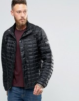 The North Face Denali Thermoball Jacket In Black