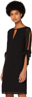 Amazon Brand - TRUTH & FABLE Women's Mini Chiffon A-Line Dress