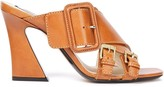 N°21 N21 Buckled Leather Mules