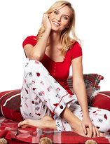 New York & Co. 2-Piece Pajama Set - Holiday Print