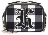 Christopher Kane Mini Box embroidered shoulder bag
