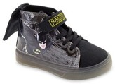 Batman Lighted Canvas High Top Sneakers with Cape (Toddler Boys)
