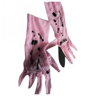 Giambattista Valli X H&m Pink Other Gloves