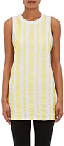 3.1 Phillip Lim WOMEN'S EMBROIDERED JERSEY ELONGATED TANK TOP