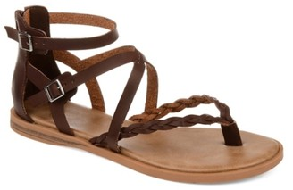 Journee Collection Ninah Gladiator Sandal