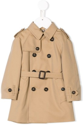 BURBERRY KIDS The Wiltshire Trench Coat