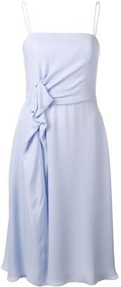 Emporio Armani sleeveless midi dress