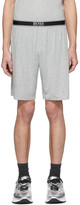 BOSS Grey Comfort Shorts