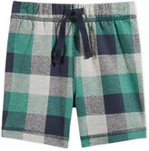 First Impressions Plaid Pull-On Shorts, Baby Boys (0-24 months), Only at Macy's