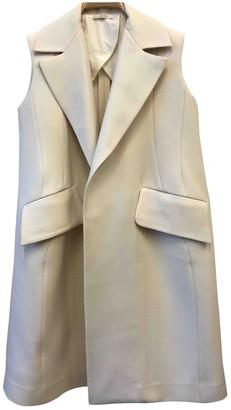 Celine Ecru Wool Jacket for Women