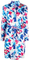 Moschino floral-print shirt dress