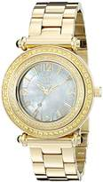 Oniss Women's ON8182N-LG/YW-C BELLO COLLECTION Analog Display Swiss Quartz Gold Watch