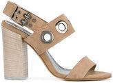 Diesel high heel sandals - women - Leather/Suede/metal - 37