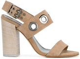 Diesel high heel sandals - women - Leather/Suede/metal - 39