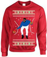 Allntrends Adult Crewneck 1-800 Hotline Bling Ugly Christmas Sweater (L, )