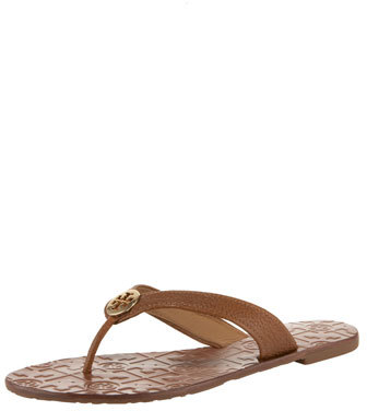 Tory Burch Thora Leather Thong Sandal