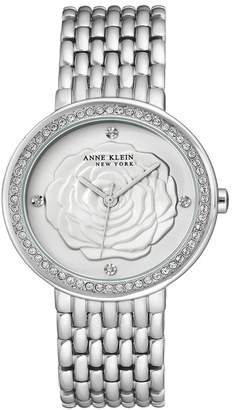 Anne Klein Women's Swarovski Crystal Bracelet Watch, 36mm