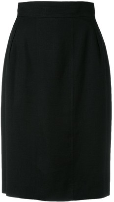 Chanel Pre Owned Classic Pencil Skirt