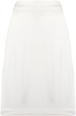 Maison Martin Margiela Pre Owned 1990s A-line knee-length skirt