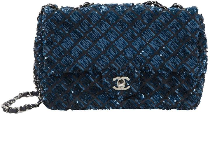 Chanel Timeless glitter handbag