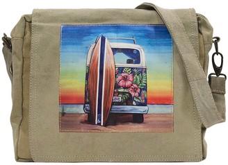 Vintage Addiction Women's Crossbodies Tan - Tan Minibus Summer Lovin' Crossbody Bag