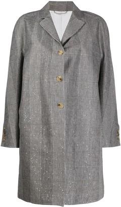 Ermanno Scervino Single Breasted Coat