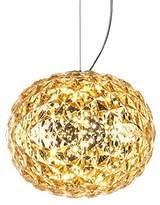 Kartell 09390GI PLANET Lamp, Plastic, Yellow
