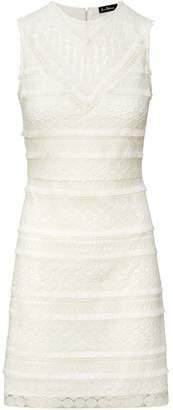 Sam Edelman Lace Fringe Sheath Dress