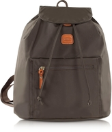 Bric's X-Travel Olive Nylon Backpack