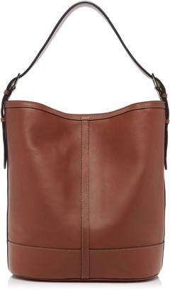 Hunting Season Hobo Leather Shoulder Bag