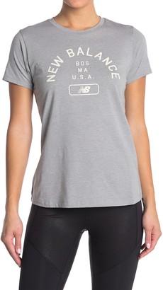 New Balance Relentless Graphic Crew Neck T-Shirt